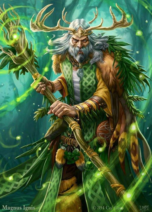 Druid evolved...  BY PETER LUMBY   Magnus Ignis is a free online fantasy card game that's just been released.