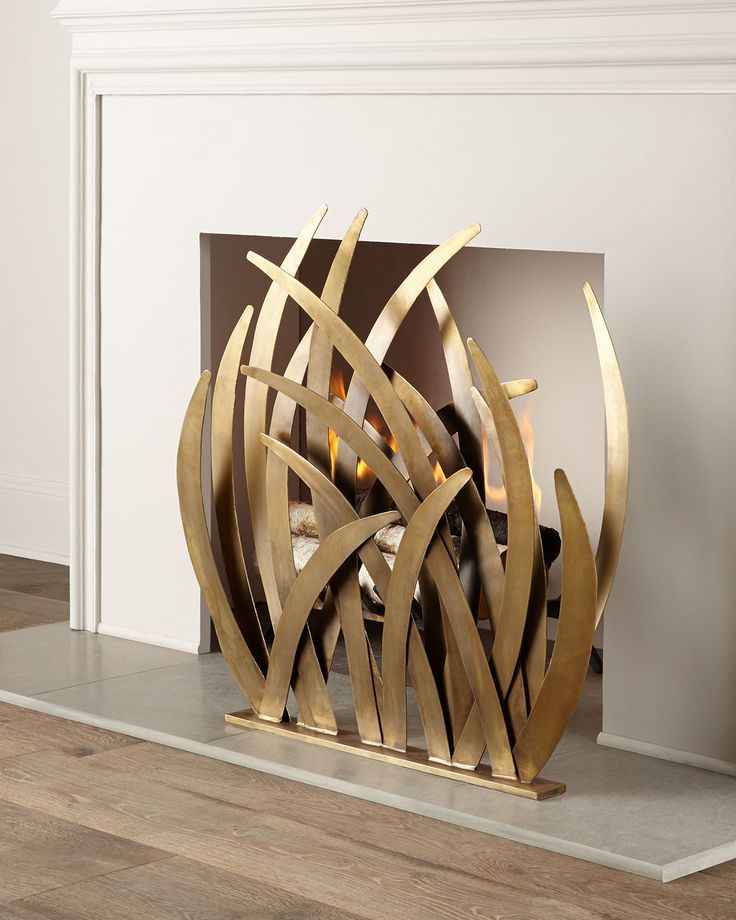 Best 25+ Brass fireplace screen ideas on Pinterest | Uses of brass ...