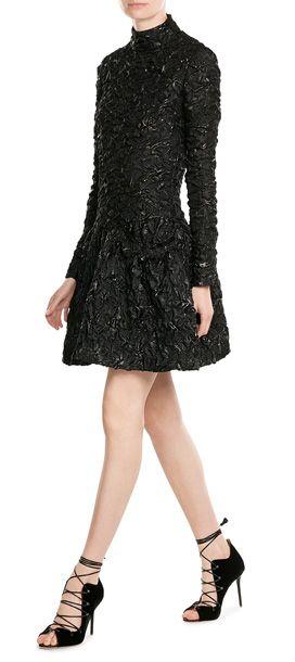 Textural Lava Dress - Simone Rocha | STYLEBOP.com