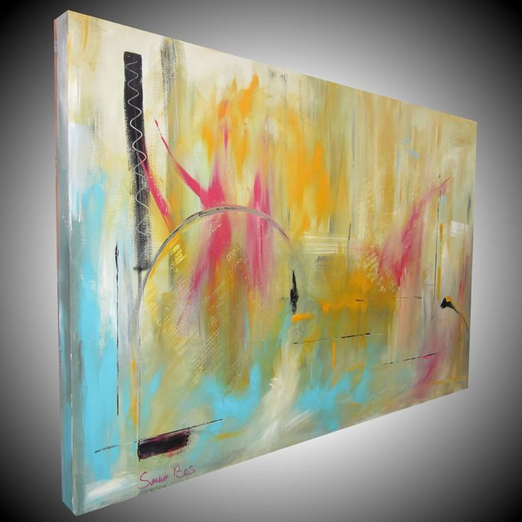 quadro astratto per soggiorno - quadri dipinti Sauro Bos