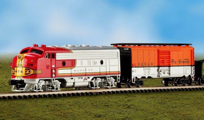 The Super Chief Train Set