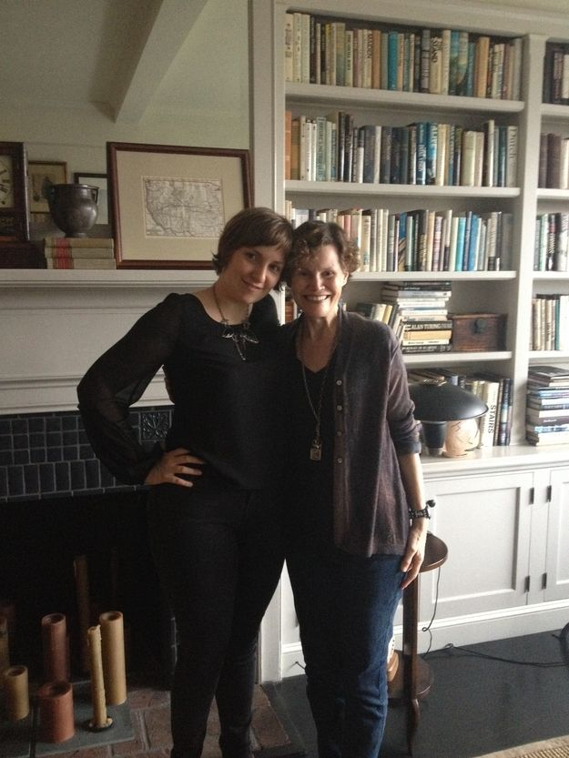 7 Fun Things We Recently Learned About Lena Dunham And Judy Blume