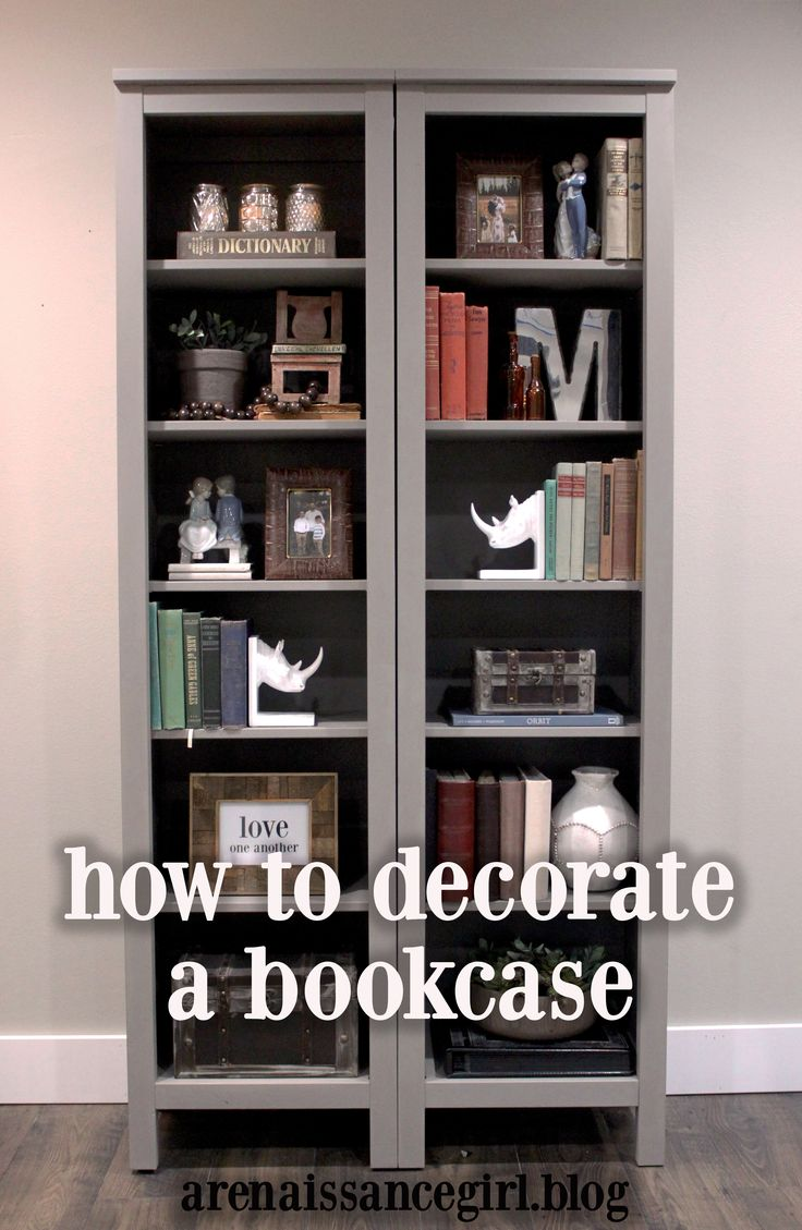 Professional Decorating Tips | 6 Things Every Bookcase Needs | Home Decor |  Modern Farmhouse