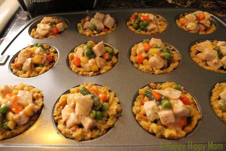 What to do with turkey leftovers! Turkey Muffin Stuffins - #23 Good Cook Leftover Recipe   A Happy Hippy Mom