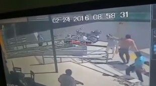 Funcionario que golpeó a mujer podría ser despedido sin responsabilidad patronal