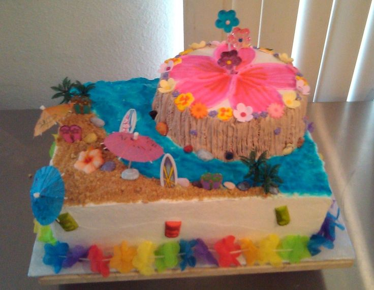luau cakes baby showers themed sports baby showers baby shower