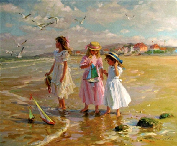Konstantin Razumov, On The Beach.