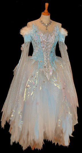 Translucent fairy ice dress. The Goblin Ball - Sat 22 June 2013. Melbourne, Australia