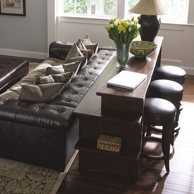 We Love This Elegant Gathering Island From Stickley