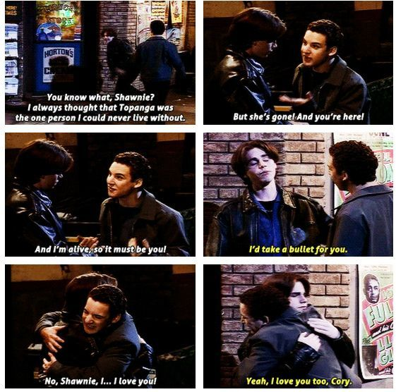 19 Reasons Cory and Shawn were the most important couple on Boy Meets World.