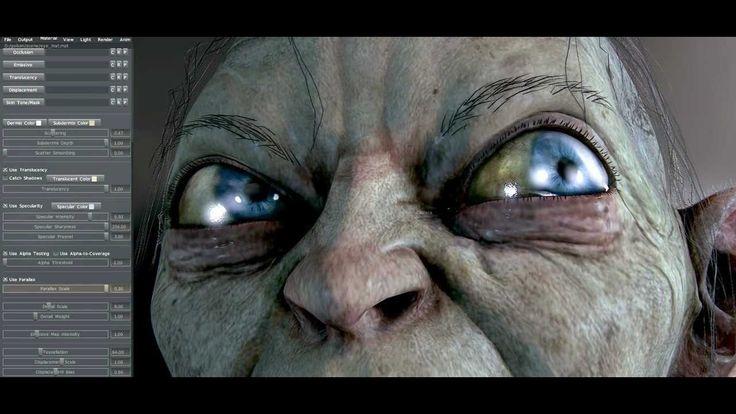 Gollum - Marmoset Toolbag Realtime Render