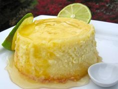 Flan de Limón (Lime Flan)
