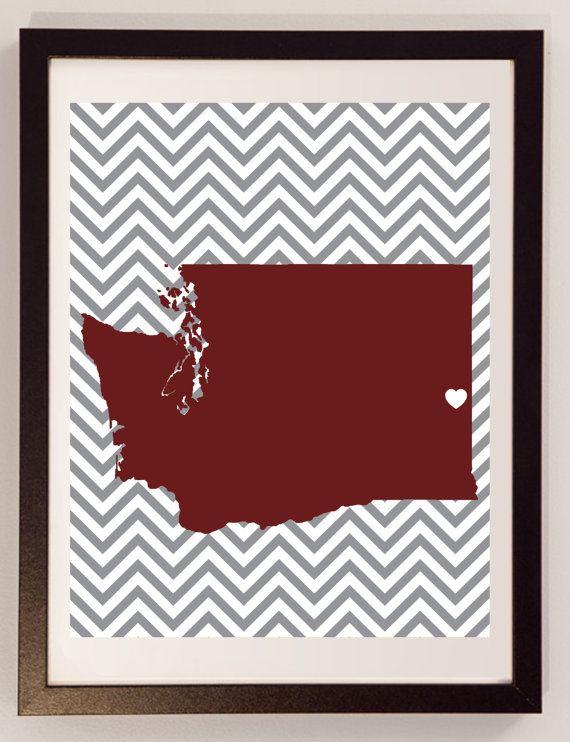Washington State University / University of by EdmondsonbyDesign, $18.00