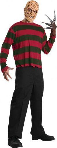 Rubies Men's Nightmare On Elm Street Freddy Krueger Mask And Shirt  Nightmare on elm street freddy is the scariest to have at any halloween party. Men's uk standard size | chest 38″/42″ Men's uk standard size | chest 38″/42″ Printed shirt Men's uk standard size | chest 38″/42″ Men's uk standard size | chest 38″/42″ Printed shirt Eva mask  http://www.beststreetstyle.com/rubies-mens-nightmare-on-elm-street-freddy-krueger-mask-and-shirt/