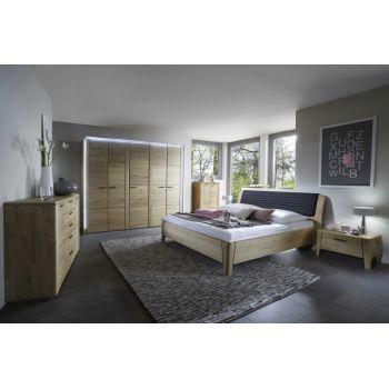 Set Dormitor Keros complet Material: Lemn masiv de stejar Culoare: Lac transparent