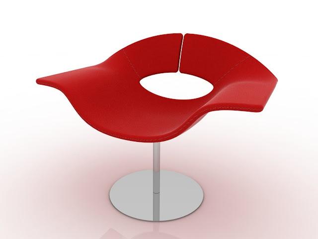 Design chair - Gea - by Leonardo Rossano - read more: http://myartistic.blogspot.com/2011/03/salone-del-mobile-2011-gea-designer.html