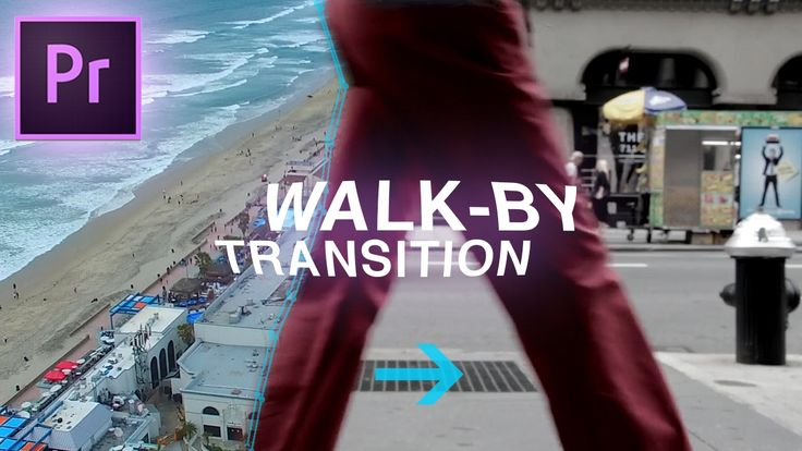 Slick Walk By Transition Effect - Adobe Premiere Pro CC Tutorial (Custom Wipe & Reveal with Masking)