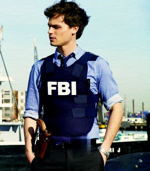 Spencer Reid in Criminal Minds.  The short hair suits him much better than the longer hair