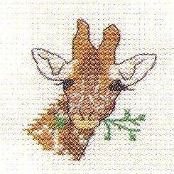 Giraffe Cross Stitch | Giraffe: Cross stitch (Mouseloft, 004-A05stl)