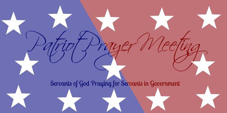 Patriot Prayer Meeting