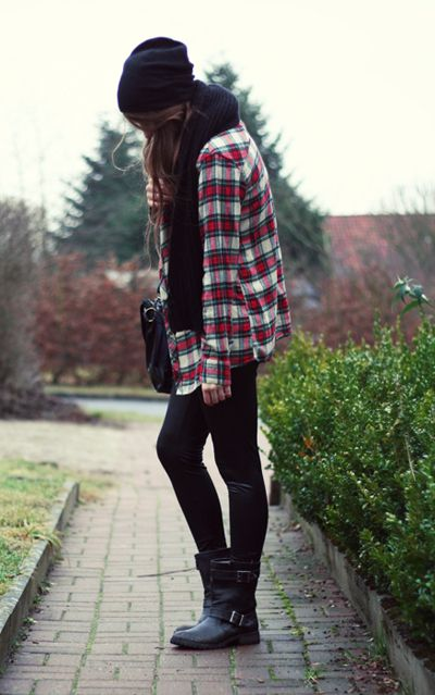 42 best Back To School Plaid Shirt Tied Around Waist Bethany Mota Inspired images on Pinterest ...