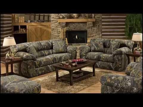 Camo Living Room Furniture Ideas