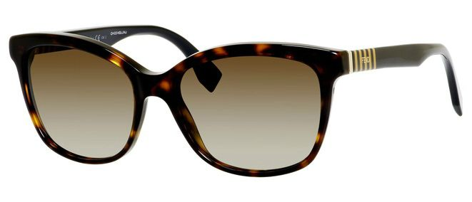 Fendi 0054 Rectangle Sunglasses