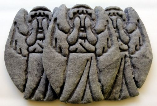 Weeping Angel Cookies how-to