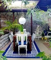 """Résultat de recherche d'images pour """"idée de terrasse bleu"""""""