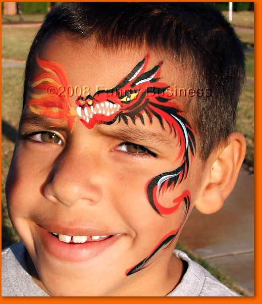 10 best images about Boy face painting designs on ...