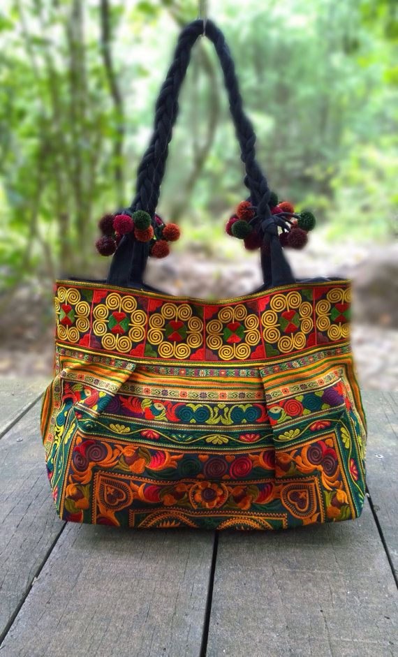 Check out this item in my Etsy shop https://www.etsy.com/listing/209956688/hmong-embroidery-tote-ethnic-bag-fashion