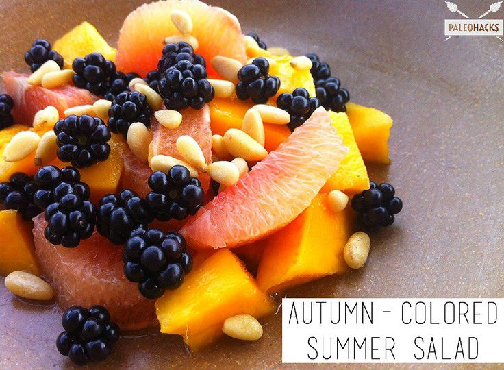 Autumn-Colored Summer Salad