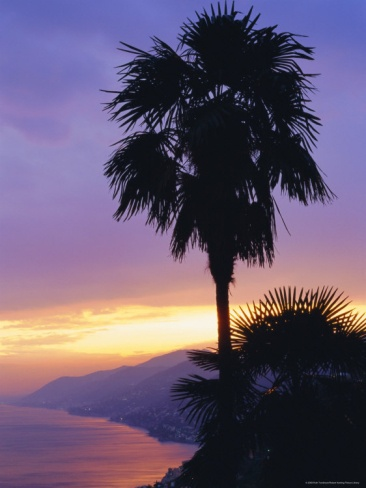 Sunset, Camogli, Liguria, Italy