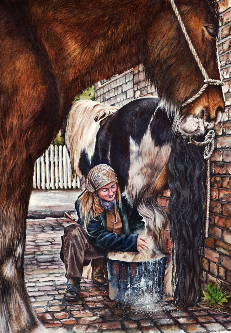 View The Farriers Daughter by Peter Williams. Browse more art for sale at great prices. New art added daily. Buy original art direct from international artists. Shop now