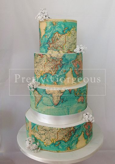 I Can Show You The World Cake - For all your cake decorating supplies, please visit craftcompany.co.uk