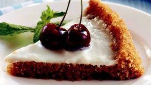 Galeta unlu kiraz pastası Tarifi ve Nasıl Yapılır Anlatımı