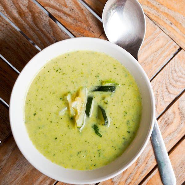 Vegan Zucchini Soup Recipe