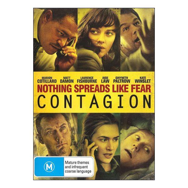 Contagion DVD Brand New Aus Region 4 - Gwyneth Paltrow, Matt Damon,
