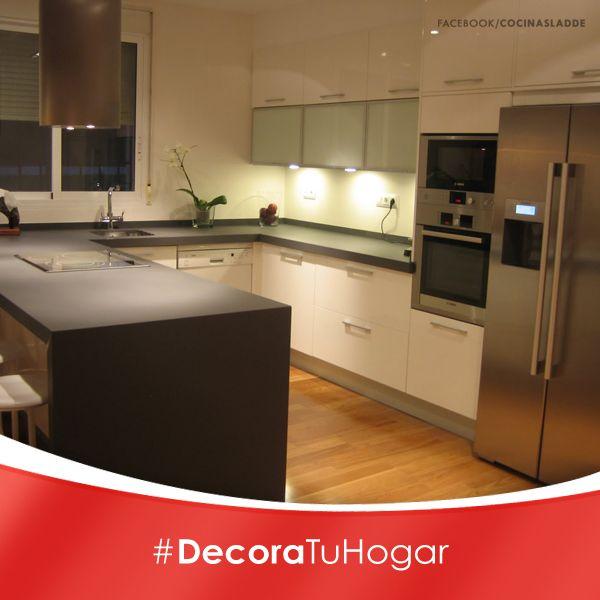Decora tu hogar un consejo de iluminaci n es que instales for Barras e islas para cocinas