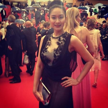 HAPPY SALMA from Indonesia at Cannes Film Festival - 2013