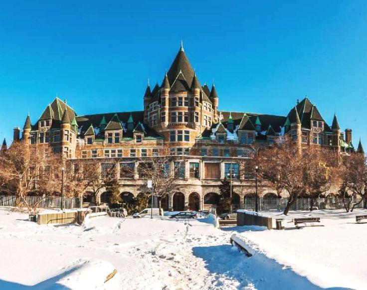 Jacques-Viger CPR Station & Hôtel, 700 Saint-Antoine Street East, Montréal, Québec 2015 - Châteaux Style Architecture OL
