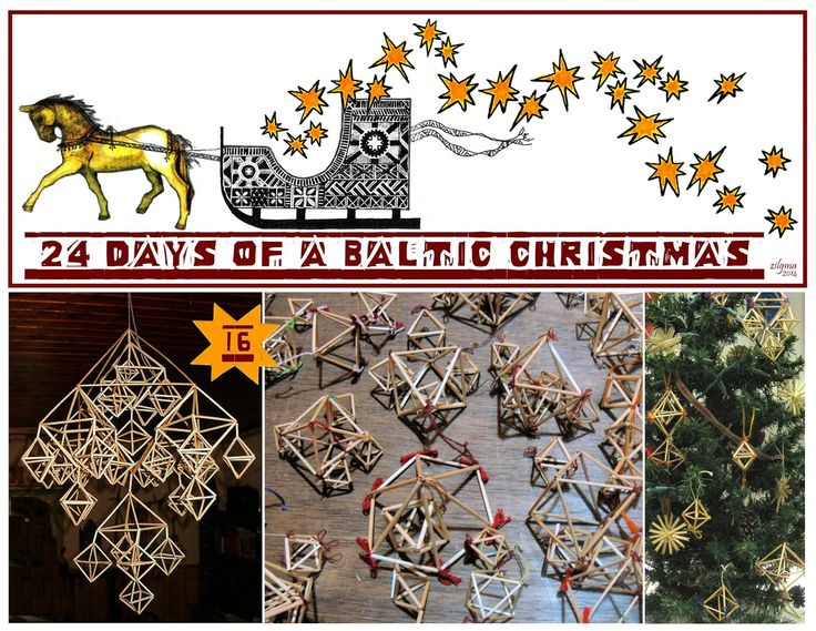 A Baltic Christmas Day 16 - PUZURIS – An enchanting little decoration (by @zilgma)
