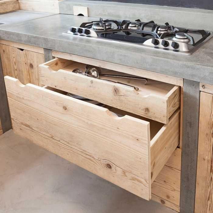 Oltre 25 fantastiche idee su piano cucina in legno su pinterest for Piano cucina in cemento
