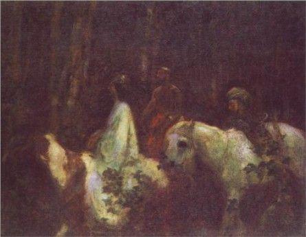 The Three Magi by Karoly Ferenczy