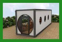 Konteyner evler, kafeler, mağazalar, barlar ve depo projeleri, resim ve strakx yeni tasarımlar
