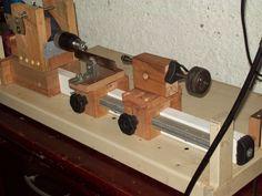 Desde que iniciei minhas atividades de se trabalhar com madeira um torno sempre foi meu sonho de consumo, mas essa máquina tem um custo mui...