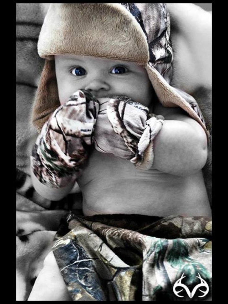 I want a baby picture like this!!! #camouflage #baby