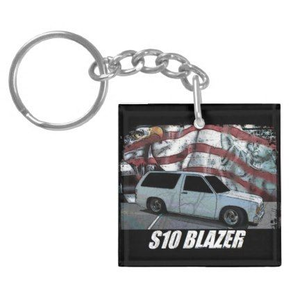 1993 S10 Blazer Keychain - classic gifts gift ideas diy custom unique