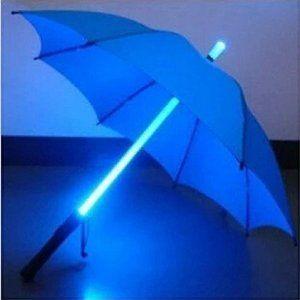 Blue LED Light Umbrella http://amzn.to/20o1Xna