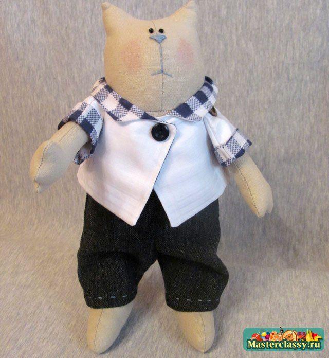 Кукла Кот Ученый Вязать